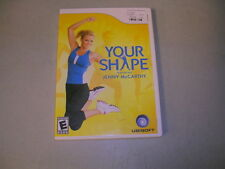 YOUR SHAPE Featuring Jenny McCarthy (Nintendo Wii) Complete