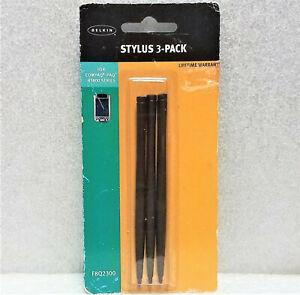 Belkin Stylus 3-Pack for Compaq iPAQ h3800 Series Model #F8Q2300 NIP