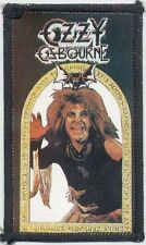 Ozzy Osbourne Original Sew On Patch #1