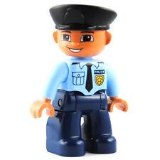LEGO® Duplo Figur Mann Polizist Policeman Cop NEU