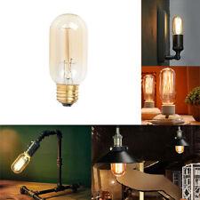 110V 40W ST45 E26 Edison Bulb Lamp Retro Laboratory Warm Room Light Dimmable