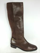 Cole Haan Womens Brown Leather Knee Boots 11 B