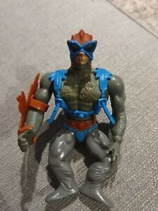 VINTAGE 80S MATTEL HE-MAN MOTU MASTERS OF THE UNIVERSE STRATOS RED ACTION FIGURE