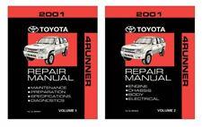 Bishko OEM Repair Maintenance Shop Manual Bound for Toyota 4-Runner 2001