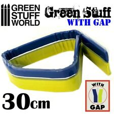 "Green Stuff World Kneadatite Blue/Yellow Green Stuff 12"" / 30cm Epoxy Putty Bar"