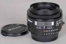 Nikon AF Nikkor 28mm f2.8 Wide Angle Prime AF Lens + HN-2 Hood w/ Warranty