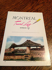 Vintage Montreal travel guide