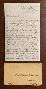 50th Massachusetts Infantry Civil War Letter  1864 W. Hammond Clark's Point