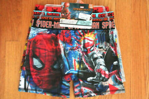 Marvel Boys' Spider-Man Size 10 4 Pack Athletic Boxer Briefs - Wicking; ...
