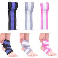 Adjustable Elasticated Compression Bandage Wrap Knee Ankle Wrist Elbow Support