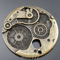 8pcs Vintage Bronze Alloy Mechanical Gear Decoration Pendant Charm Jewelry 39856