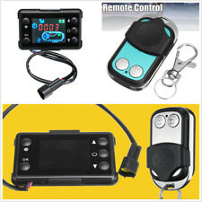 Universal 12V/24V 3/5KW Car SUV LCD Monitor Parking Heater Switch+Remote Control