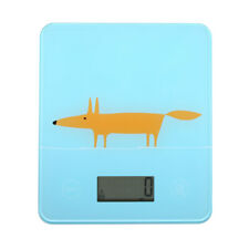 Scion Mr Fox Blue Electronic Scales Measuring Weighing Cooking Baking Scales