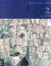 Psychology: Australian and New Zealand Edition 2E + Ebook by Burton (Multiple c…