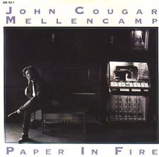 "JOHN COUGAR MELLENCAMP  Paper In Fire PICTURE SLEEVE 7"" 45 rpm vinyl record NEW"