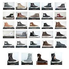 Neu All Star Converse Chucks Hi Damen Kinder Leder Sneaker versch. Modelle