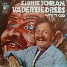 """7"""" 1971 RARE ! SJAKIE SCHRAM : Vadertje Drees / VG++"""