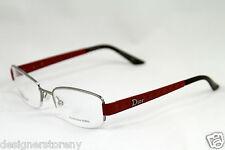 CHRISTIAN DIOR CD3759 CD 3759 GHP Red Eyeglass Frame Eyewear 52-18-135