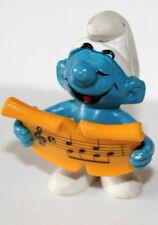 Vintage Smurf Schleich Figure 1978 Peyo Singing Music Sheet PVC NEW NOS