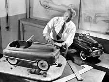 1948 Murray Pedal Car Clay Mockup Design Dept. Photograph 8x10