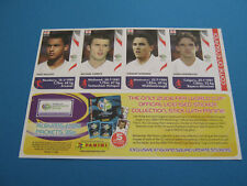 Panini WM Germany 2006 England Update Bogen Neu/Top