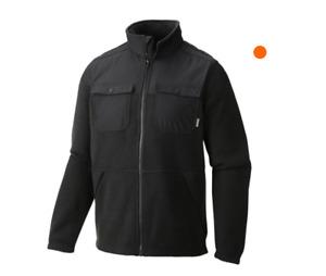 Columbia Men's Terpin Point Overlay Black Fleece Size L