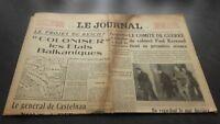 """""""El Diario"""" Edition De 5 Horas Antiguo N º 17322 Domingo 24Mars1940 ABE"""