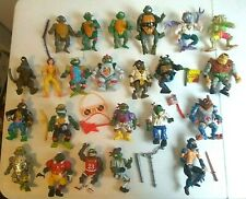 HUGE Lot Set Of 23 Vintage TMNT Action Figure Toys & Accessories 80s - 90s