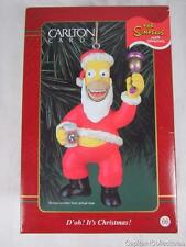 Carlton Christmas Heirloom Ornament D'oh! It's Christmas! Santa Homer Simpson