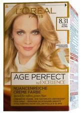 L´Oréal Excellence Age Perfect 8.31 Goldblond Haarfarbe Loreal