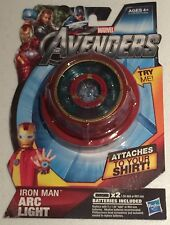 Marvel Avengers Movie Roleplay Communicator Chest Lights Iron Man Arc Light New