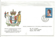 1977 New Zealand Royal Silver Jubilee cover to OH