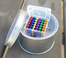 216 un. Set 5mm Magic Imán Multicolor Bolas Esfera Cube Rompecabezas Envío Gratuito