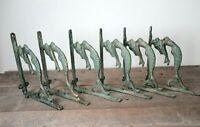 6 Cast Iron MERMAID Brackets Garden Braces Shelf Bracket Corbels Beach Nautical