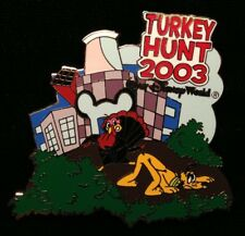 DISNEY PIN - PLUTO Thanksgiving Turkey Hunt 2003 WDW Cast Exclusive LE