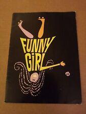 Funny Girl Vintage Broadway Musical Program