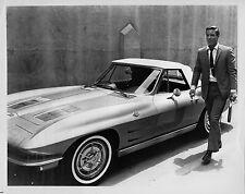 Photo originale Richard Chamberlain automobile coupé
