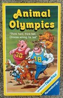 Vintage 1989 Animal Olympics Card Game By Ravensburger
