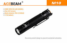 New AceBeam M10 Cree XP-G3 S5 224 Lumens LED Flashlight Torch ( AA, 2A, 14500 )