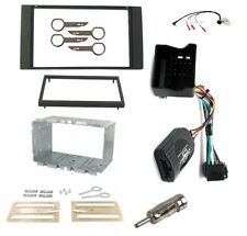 Ford Fiesta Mk6.5 Facelift Double Din Stereo Fitting Facia Kit Stalk Adaptor