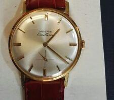 Orologio vintage Moeris anni 60/70 oro 18kt solid gold manuale come nuovo!!