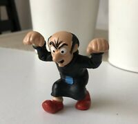 Smurf Vintage figure toy doll Schleich Peyo Gargamel Hands Up 1993 Schleich Toy