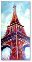 'Eiffelturm' Ölgemälde Handmalerei Direkt vom Künstler Art Nr.664