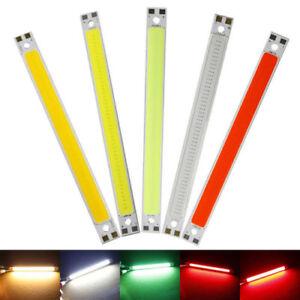 1PCS 120 X10mm Led Light Strip Surper 10W COB Led Strips Lamps DIY Car Work 12V