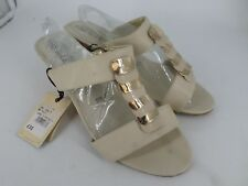 Good For The Sole Slip On Mule Wedge Sandals Wide Fit UK 7 EU 40 LN087 WW 13