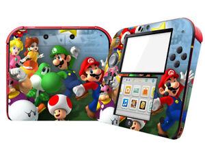 Super Mario Odyssey - Vinyl Skin Decals Sticker Cover FOR Nintendo 2DS