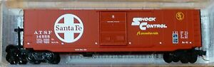 Micro-Trains Line #07700140 Atchison, Topeka & Santa Fe Rd #14555 50' Boxcar
