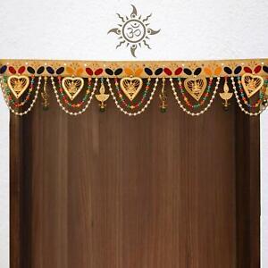 Indian Handmade Toran Door Valance Wall Hanging Home Décor Diwali Decoration