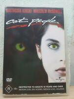 CAT PEOPLE 1982 DVD R18+ John Heard, Nastassia Kinski 2,4 PAL Zones