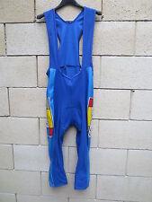 Combi Cuissard cycliste mi long EQUIPE DE FRANCE FFC bleu taille 3